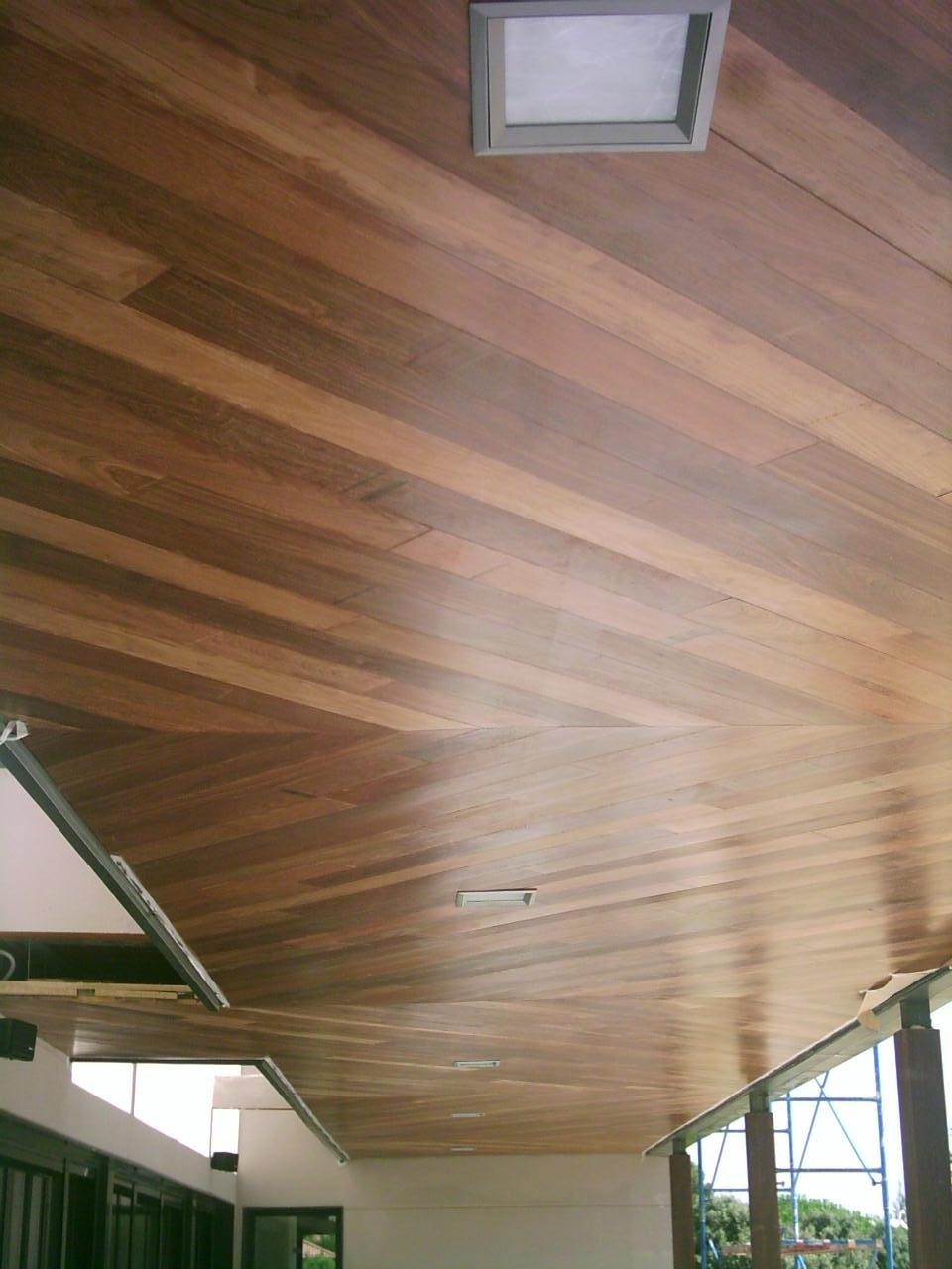 Instalacion clavada sobre rastrel de tarima maciza de interior de merbau topmadera - Tarima madera interior ...