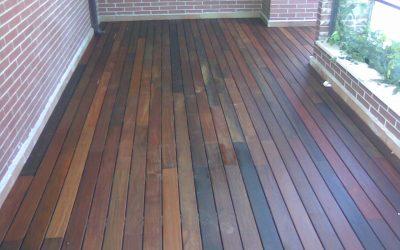 madera para terraza