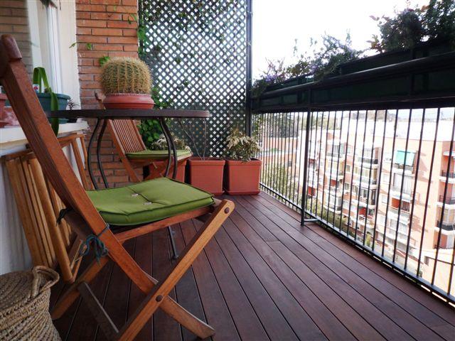 Instalación De Terraza De Ipe En Madrid Topmadera