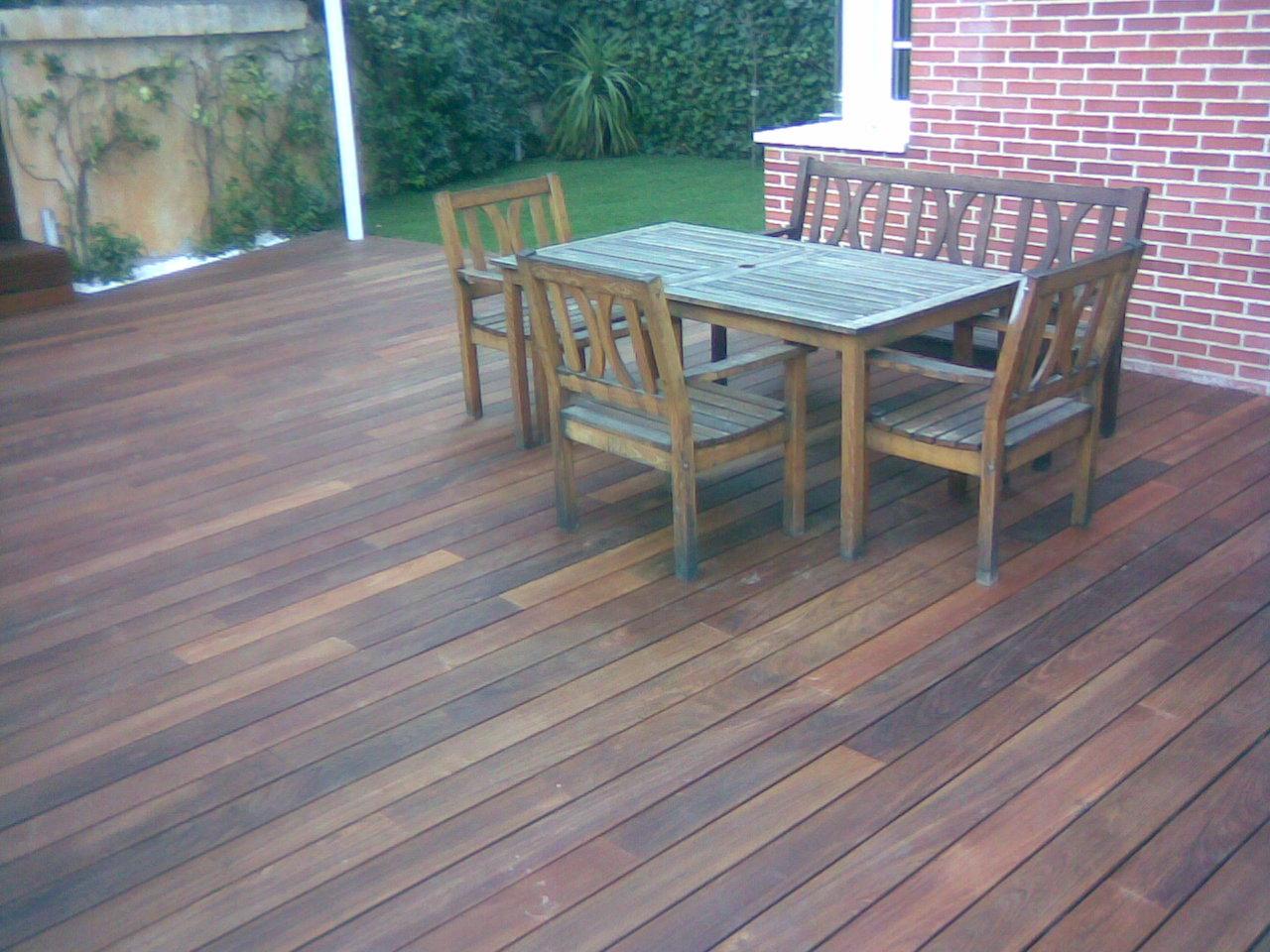 Venta de tarima de ipe exterior para jardin en madrid for Ipe madera exterior