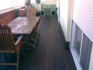 Venta e instalacion de tarima de madera de exterior en terraza