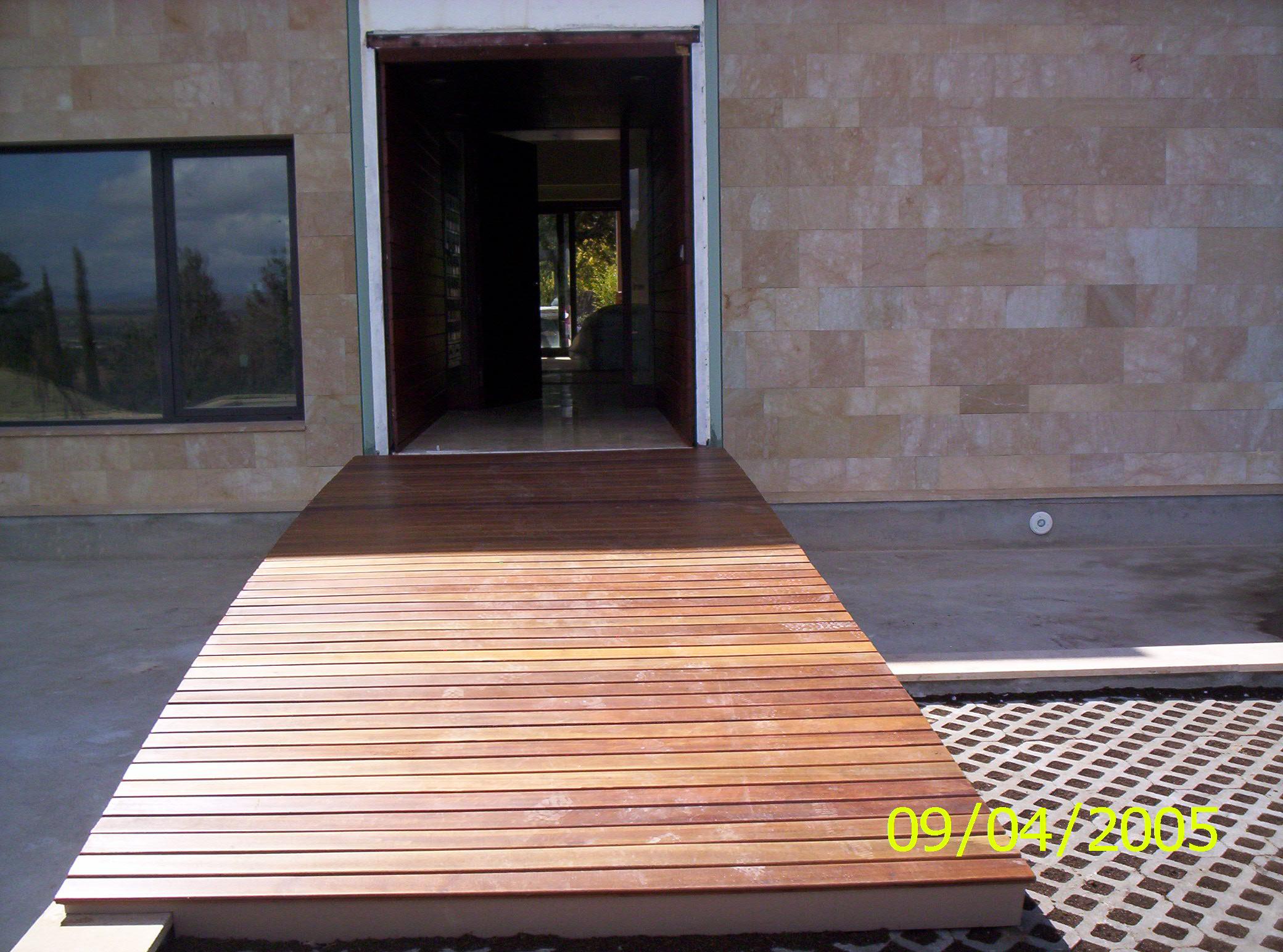 Instalacion y venta de tarima maciza de exterior de cumaru - Tarima de exterior ...