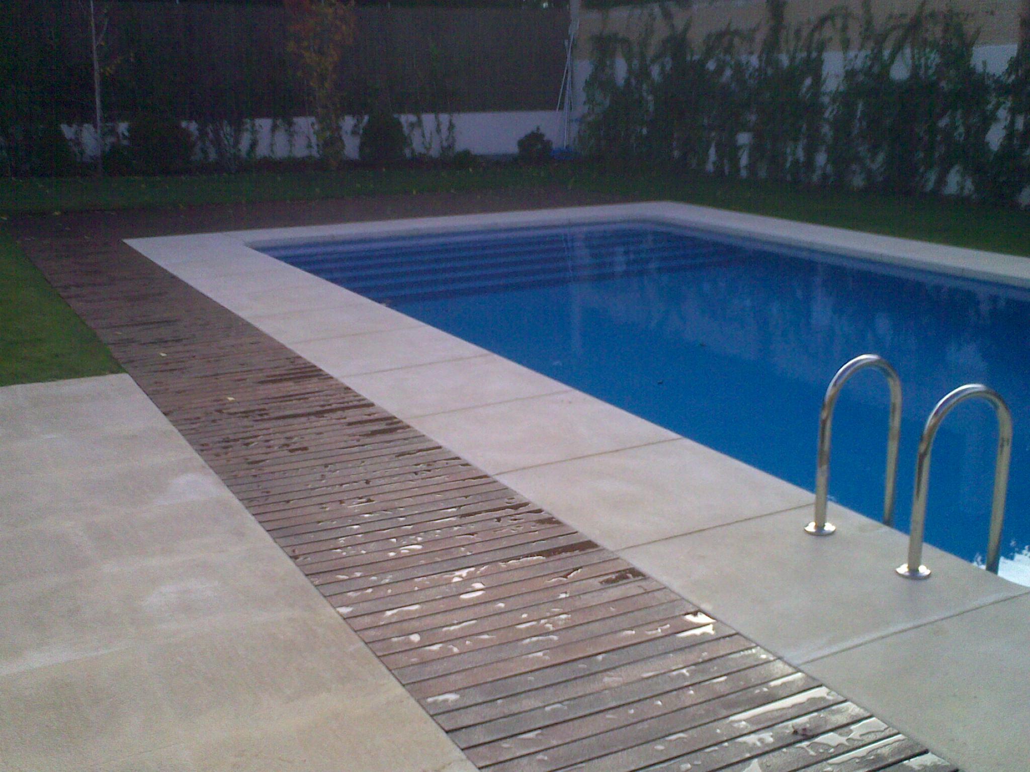 Piscina con agua salada excellent piscina blanca todo lo - Piscinas de agua salada ...