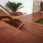 tarima de madera exterior de ipe