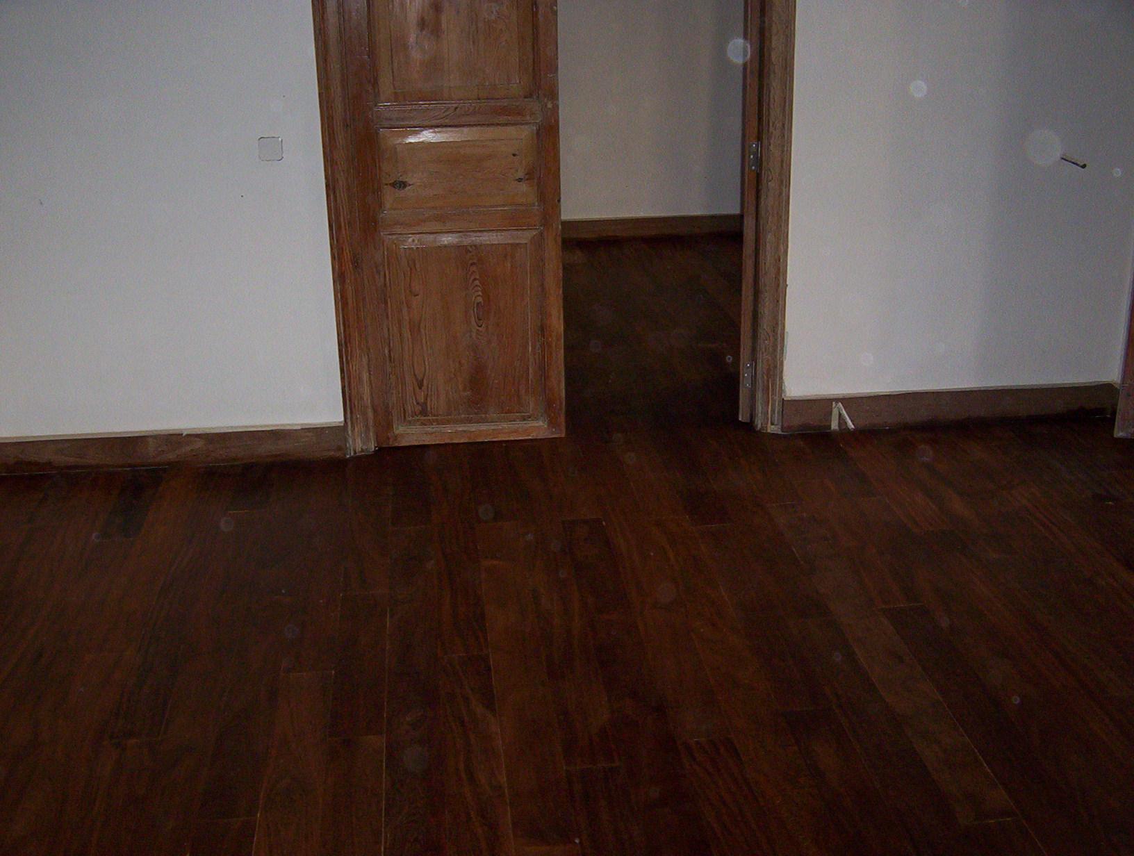 Instalaci n de tarima de interior maciza haya jatoba - Tarima madera interior ...
